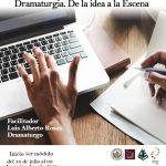 UCV CULTURA anuncia  Diplomado en Dramaturgia: De la idea a la escena –  MODALIDAD ONLINE