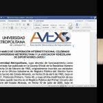 Unimet y AVEX firman convenio que une a la Academia y al sector empresarial de Venezuela