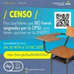 Unexpo  abre Censo para bachilleres no asignados por la OPSU para explorar opciones de ingreso