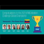 Uesebistas ganaron competencia mundial KPMG Ideation Challenge 2021